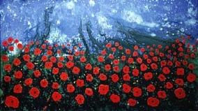 POPPIES NO.16 UNDATED BY LUCIEN SIMON