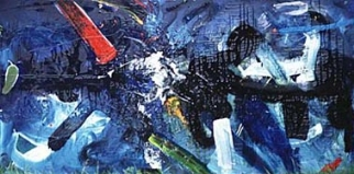 ABSTRACT NO.26 UNDATED BY LUCIEN SIMON