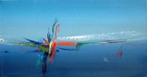 SEA SQUABBLE II NO.324 UNDATED BY LUCIEN SIMON