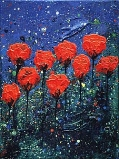 CLOSED POPPIES NO.35 UNDATED BY LUCIEN SIMON