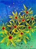SUN FLOWERS MINI NO.477 UNDATED BY LUCIEN SIMON