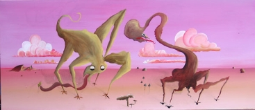MUSHROOM MONSTERS NO.541 UNDATED BY LUCIEN SIMON