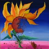 SUN FLOWER SEEDING NO.604 UNDATED BY LUCIEN SIMON