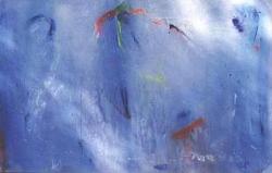 BLUE NO.63 UNDATED BY LUCIEN SIMON