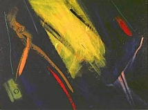NIGHT ABSTRACT NO.87 UNDATED BY LUCIEN SIMON