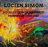 A COLLECTION OF ABSTRACT PAINTINGS 1987 - 2017 NO.968 UNDATED BY LUCIEN SIMON