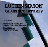 GLASS SCULPTURES NO.969 UNDATED BY LUCIEN SIMON