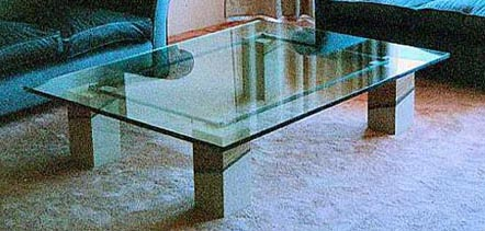BALMAIN TABLE NO.148 DATED 1989 BY LUCIEN SIMON