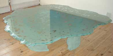 BUBBLE TABLE NO.162 DATED 2001 BY LUCIEN SIMON