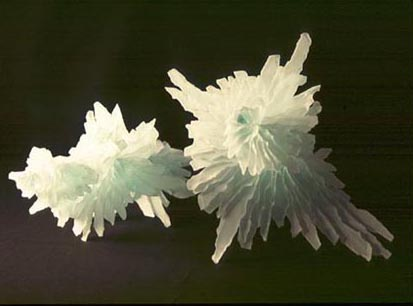 PAIR OF ICICLES NO.172 DATED 1997 BY LUCIEN SIMON