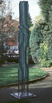 GLASS TWIST NO.201 DATED 1997 BY LUCIEN SIMON