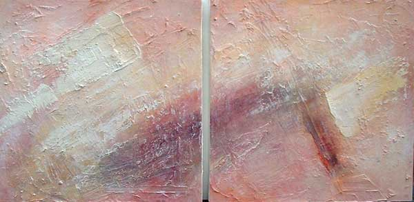 ARRID PLANES (DIPTYCH) NO.271 DATED 2003 BY LUCIEN SIMON