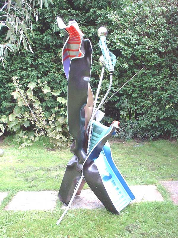 JAZZIN AROUND (FRONT VIEW) NO.308 DATED 2004 BY LUCIEN SIMON
