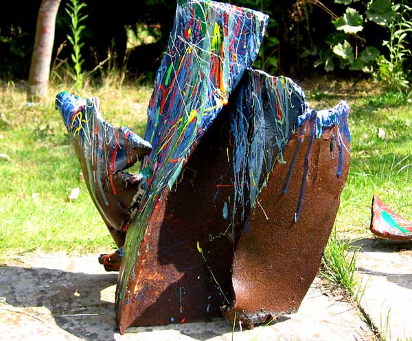 METAL PLAY 2 NO.381 DATED 2005 BY LUCIEN SIMON