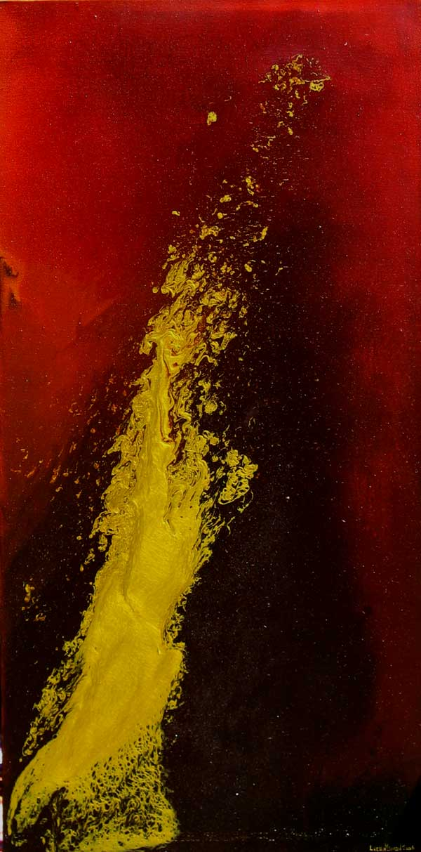 GOLDEN BARK I NO.396 DATED 2006 BY LUCIEN SIMON