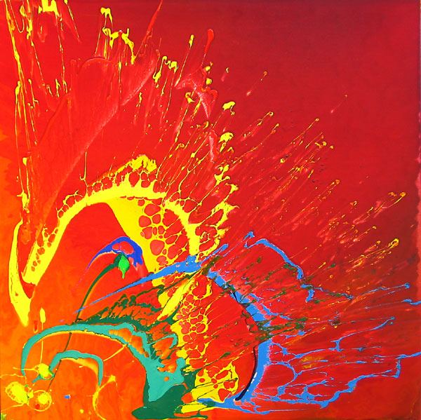 BURST NO.481 DATED 2007 BY LUCIEN SIMON