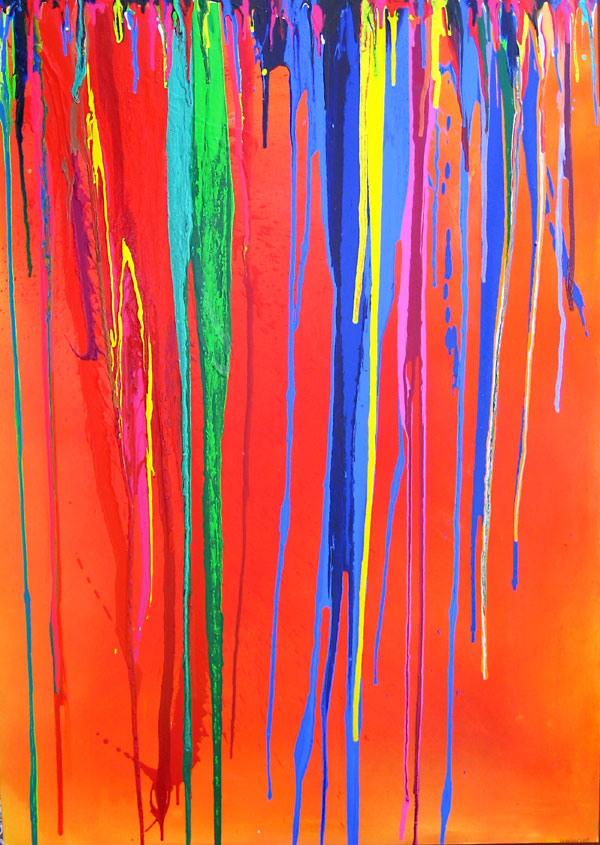 COLOUR CASCADE NO.488 DATED 2007 BY LUCIEN SIMON