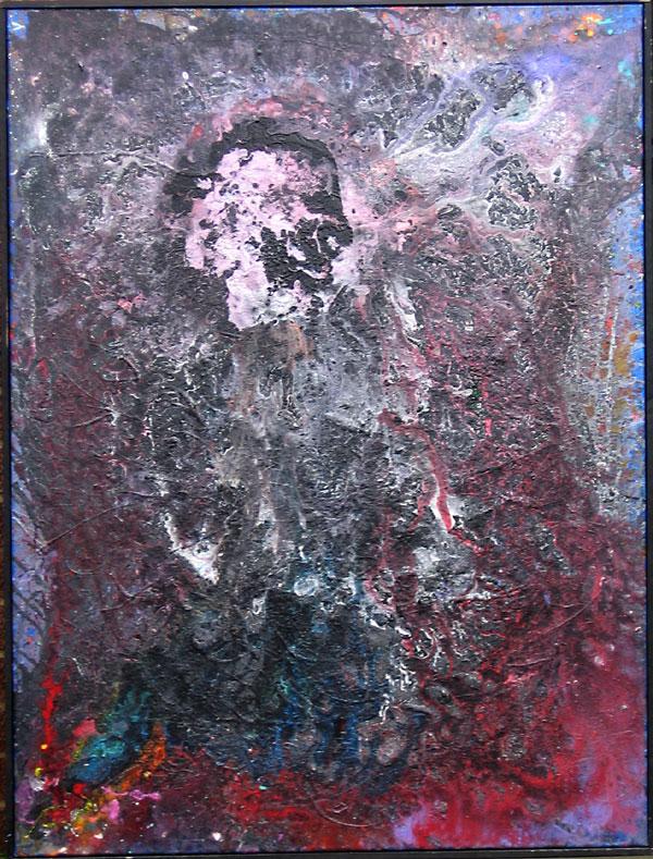 LUNAR MUSHROOM NO.505 DATED 2002 BY LUCIEN SIMON