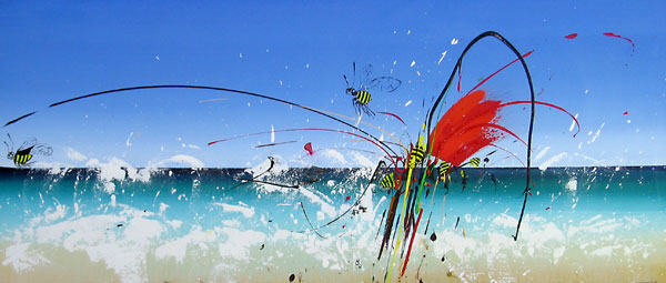 SHARK BEE ATTACK NO.530 DATED 2008 BY LUCIEN SIMON