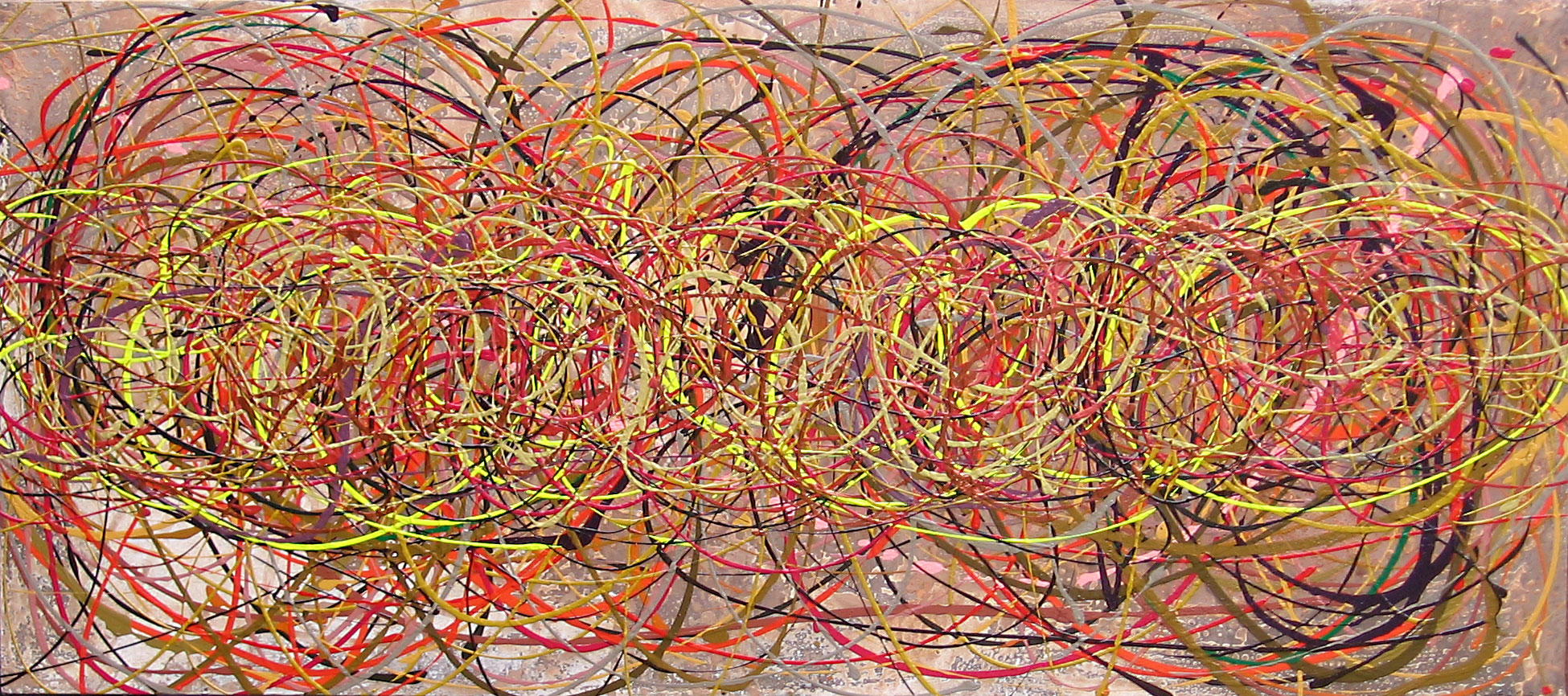 YELLOW TANGLE  NO.532 DATED 2008 BY LUCIEN SIMON