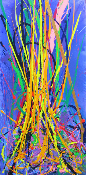 YELLOW GRASS  NO.577 DATED 2009 BY LUCIEN SIMON