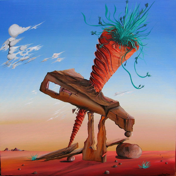 DESERT CARROT NO.591 DATED 2010 BY LUCIEN SIMON