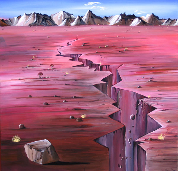 FAULT LINE NO.593 DATED 2010 BY LUCIEN SIMON