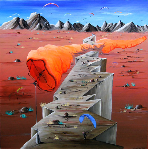 BIG SOCK PARAGLIDING NO.601 DATED 2010 BY LUCIEN SIMON