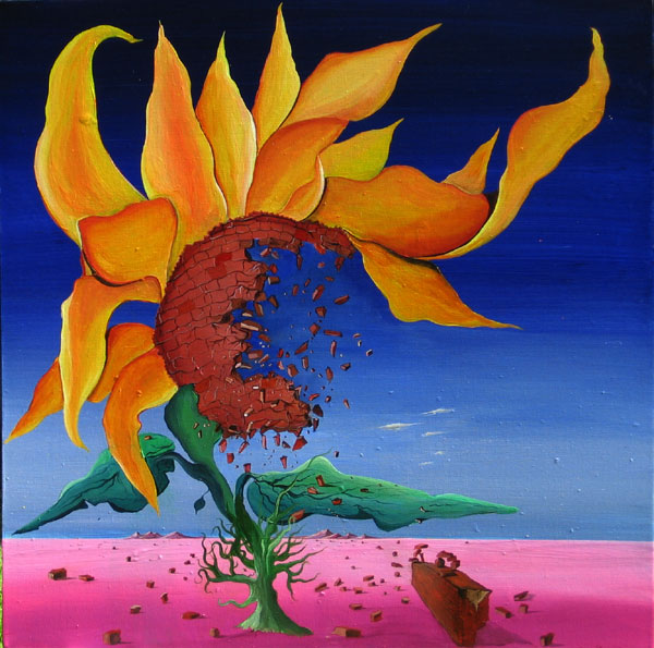SUN FLOWER SEEDING NO.604 DATED 2010 BY LUCIEN SIMON