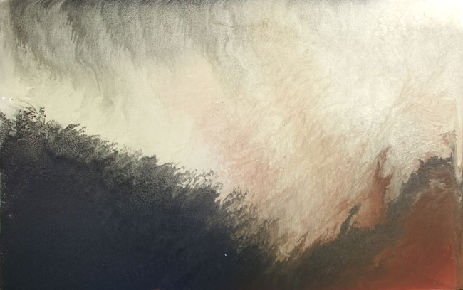 GOLD SKY NO.677 DATED 2012 BY LUCIEN SIMON
