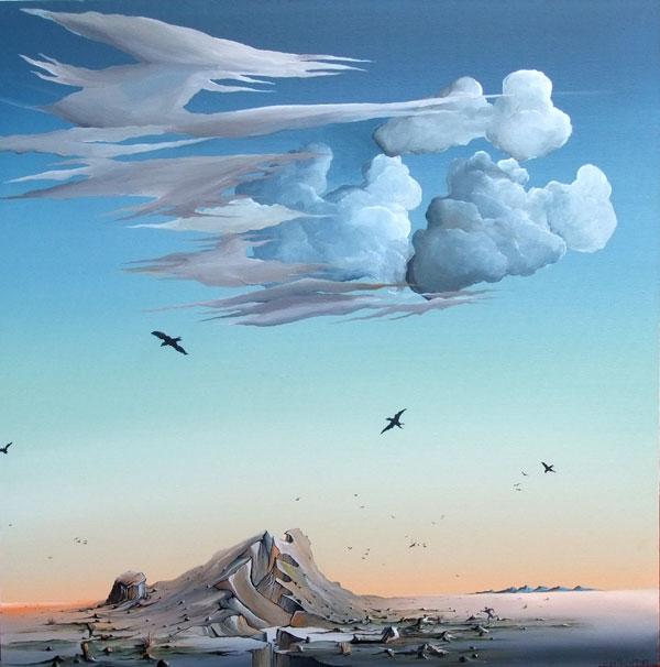 DESERT SCENE NO.720 DATED 2012 BY LUCIEN SIMON