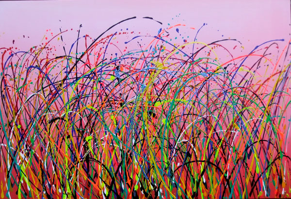 NOT BLACK GRASS NO.839 DATED 2014 BY LUCIEN SIMON