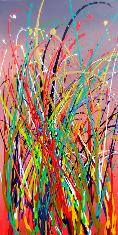 COLOUR GRASS   NO.846 DATED 2014 BY LUCIEN SIMON