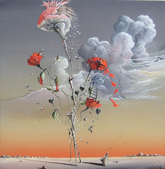POPPY MAINTANANCE NO.932 DATED 2016 BY LUCIEN SIMON